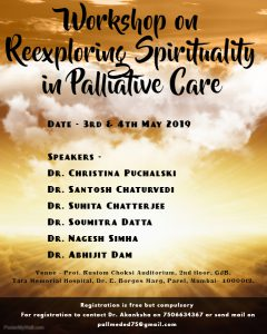 Workshop on Re-exploring Spirituality